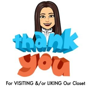Thank You For Visiting Our Closet :)